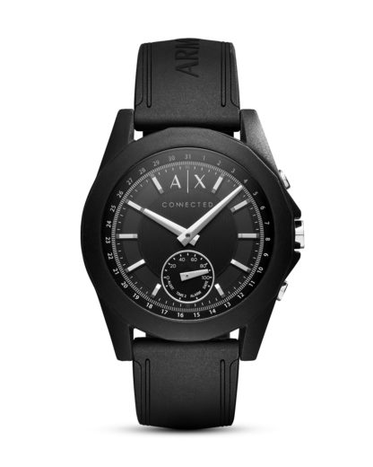 Hybrid-Smartwatch AXT1001 ARMANI EXCHANGE CONNECTED schwarz 4053858830424