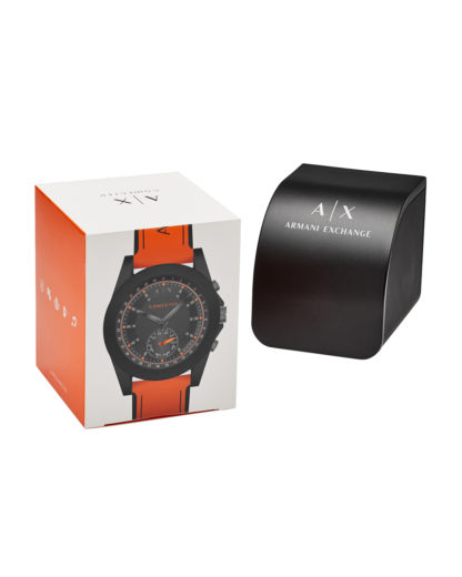 Hybrid-Smartwatch AXT1003 ARMANI EXCHANGE CONNECTED Damen,Herren Silikon 4053858830448