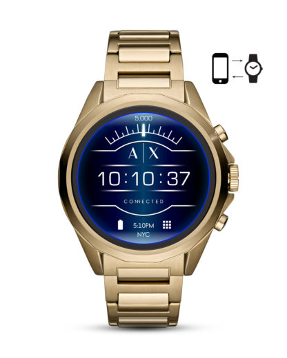Smartwatch AXT2001 ARMANI EXCHANGE CONNECTED gold 4013496056129