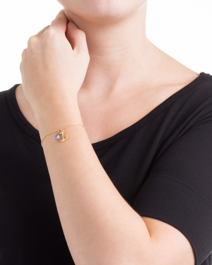 Armband Sophie 925 Sterling Silber allesausliebe by milla k gold Topas 4250945502473