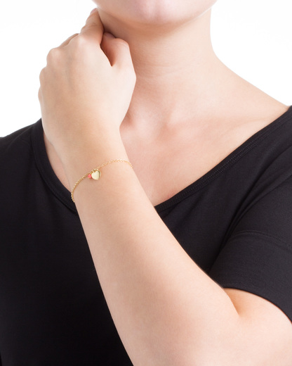 Armband Elena 925 Sterling Silber allesausliebe by milla k gold Koralle 4250945502503