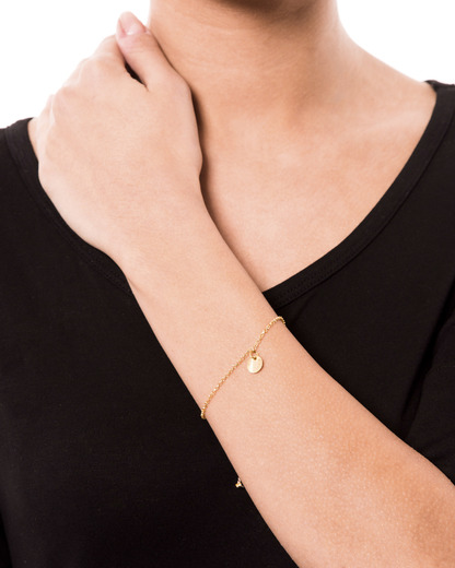 Armband Cara 925 Sterling Silber allesausliebe by milla k gold  4250945505641