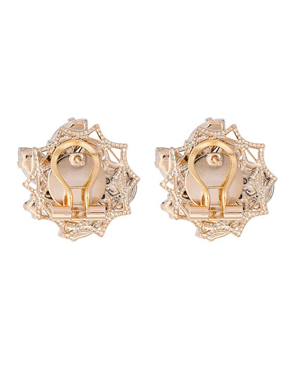 Ohrstecker Small Flower Messing Anton Heunis gold,mehrfarbig Swarovski-Stein 4250945516760