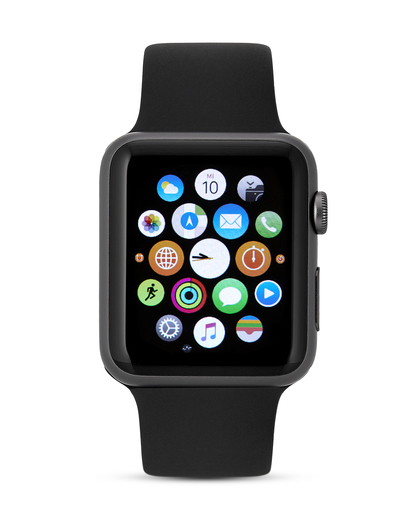 Smartwatch Apple Watch Sport Series 1 AP.MJ3T2FD/A Apple grau,schwarz 888462149082