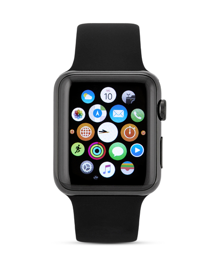 Smartwatch Apple Watch Series 1 AP.MLC82FD/A Apple schwarz 888462669498