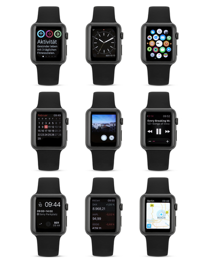 Smartwatch Apple Watch Series 1 AP.MLC82FD/A Apple Damen,Herren Kunststoff 888462669498