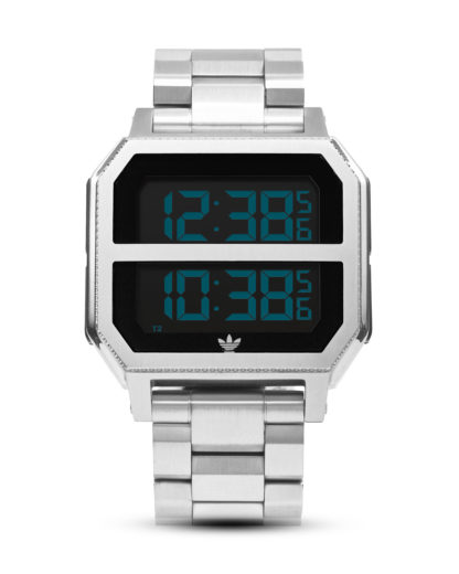 Digitaluhr Archive_MR2 Z21-1920-00 All Silver adidas Originals schwarz,silber 3608701052419