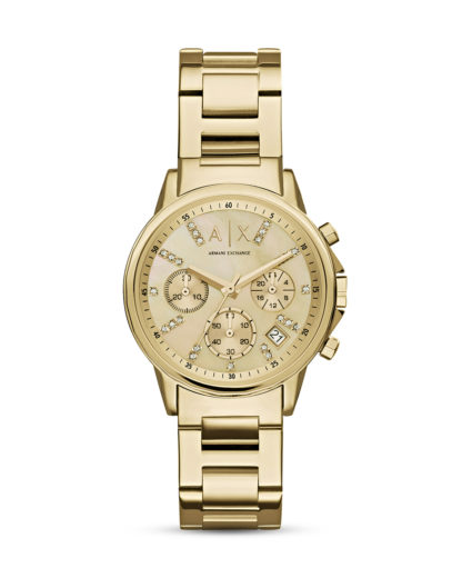 Chronograph AX4327 ARMANI EXCHANGE gold,weiß 4053858477667