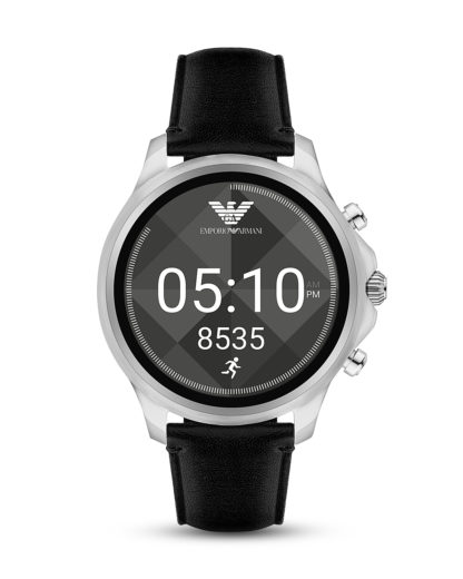 Smartwatch ART5003 EMPORIO ARMANI CONNECTED schwarz,silber 4053858919921