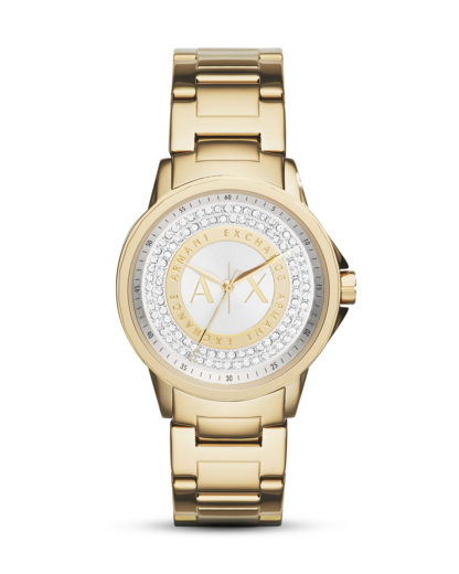 Quarzuhr AX4321 ARMANI EXCHANGE Gold 4053858362499
