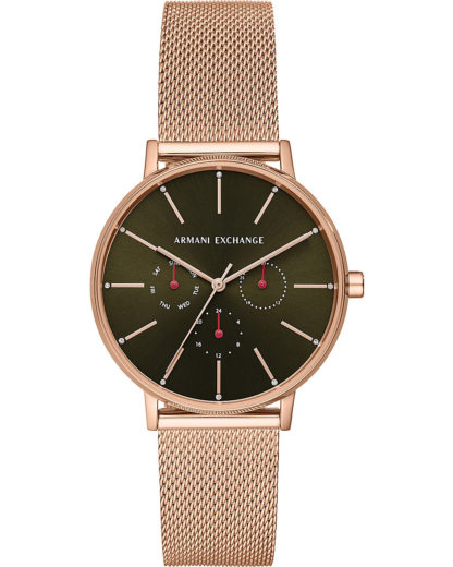 Quarzuhr AX5555 ARMANI EXCHANGE Rosegold 4013496258479
