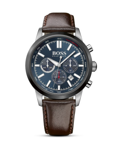 Chronograph Racing 1513187 BOSS blau,braun 7613272165013