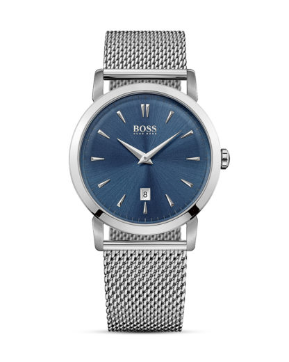 Quarzuhr Slim Ultra 1513273  BOSS blau,silber 7613272177535
