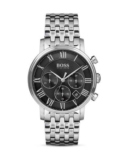 Chronograph Elevated Classic 1513323 BOSS schwarz,silber 7613272200424