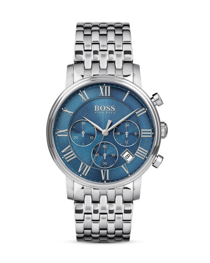 Chronograph Elevated Classic 1513324 BOSS blau,silber 7613272200431
