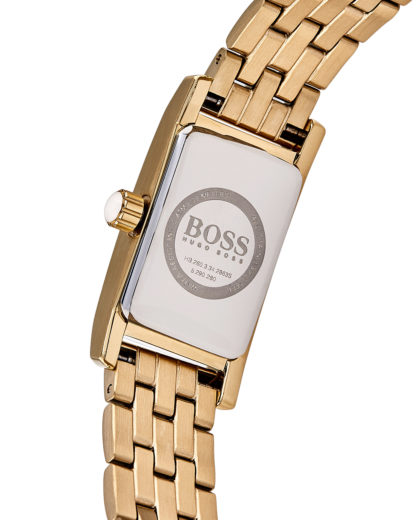 Quarzuhr Ladies Cocktail 1502384 BOSS Damen Edelstahl 7613272198653