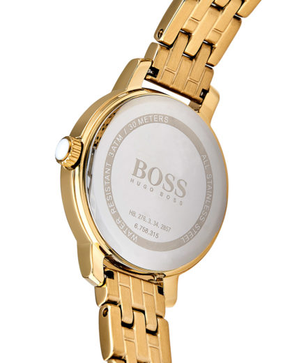 Quarzuhr Ladies Success 1502381 BOSS Damen Edelstahl 7613272198622