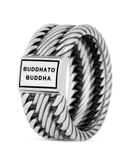 Ring Edwin Small aus 925 Sterling Silber Buddha to Buddha