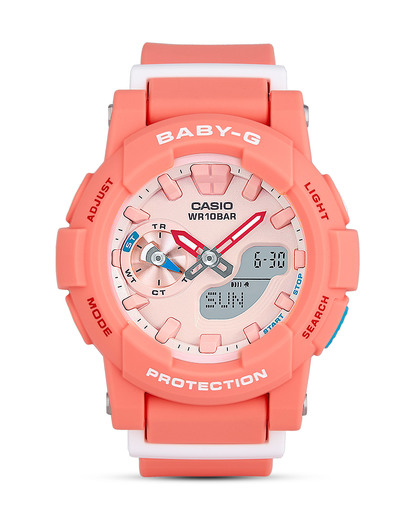 Chronograph BGA-185-4AER BABY-G orange,weiß 4549526115257