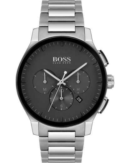 Boss Herren-Uhren Analog Quarz BOSS silber 7613272355209