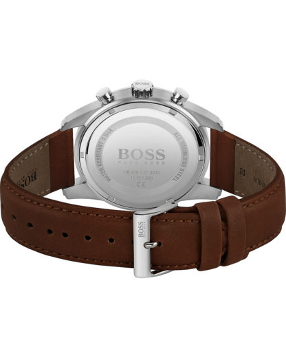 Boss Herren-Uhren Analog Quarz BOSS braun 7613272390446