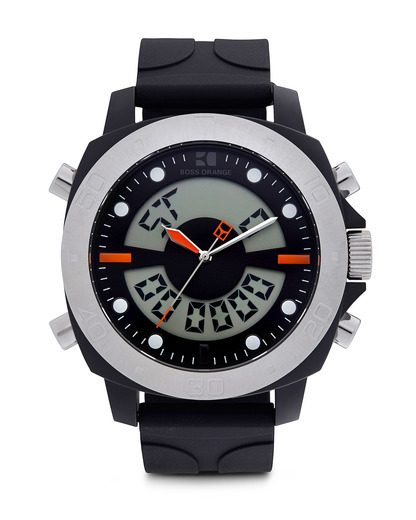 Digitaluhr 1512678 BOSS Orange schwarz 7613272019255