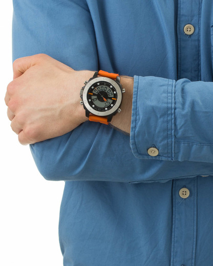 Quarzuhr 1512681 BOSS Orange Herren Silikon 7613272020640