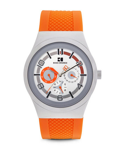 Quarzuhr 1512760 BOSS Orange orange,silber 7613272037921
