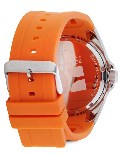 Quarzuhr 1512808 BOSS Orange Herren Silikon 7613272048248