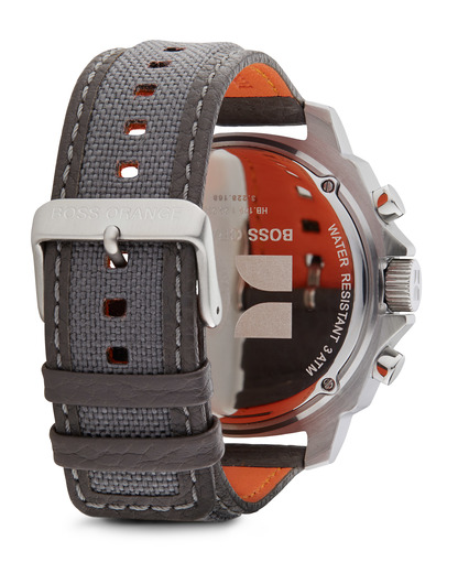 Digitaluhr 1512680 BOSS Orange Herren Stoff 7613272019279