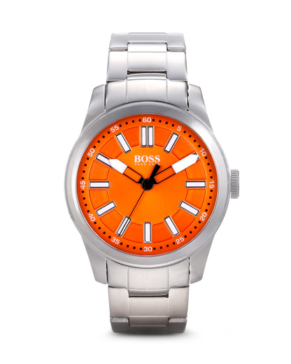 Quarzuhr BIG UP 1512935 BOSS Orange orange,silber 7613272099622