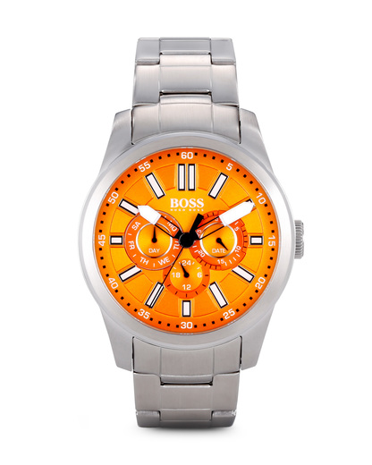 Quarzuhr BIG UP MULTIEYE 1512932 BOSS Orange orange,silber 7613272099592