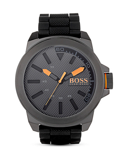 Quarzuhr New York 1513004 BOSS Orange orange,schwarz 7613272113656