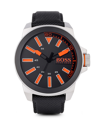 Quarzuhr BERLIN 1513116 BOSS Orange orange,schwarz 7613272143646