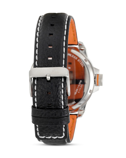 Quarzuhr Orange New York 1513151 BOSS Orange Herren Leder 7613272161657
