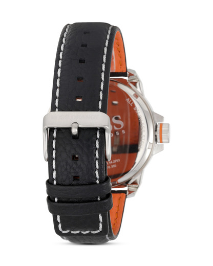 Quarzuhr New York 1513155 BOSS Orange Herren Leder 7613272161695