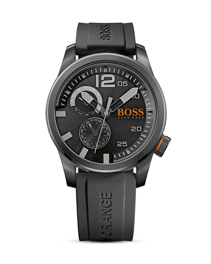 Quarzuhr Paris 1513147 BOSS Orange schwarz 7613272161619