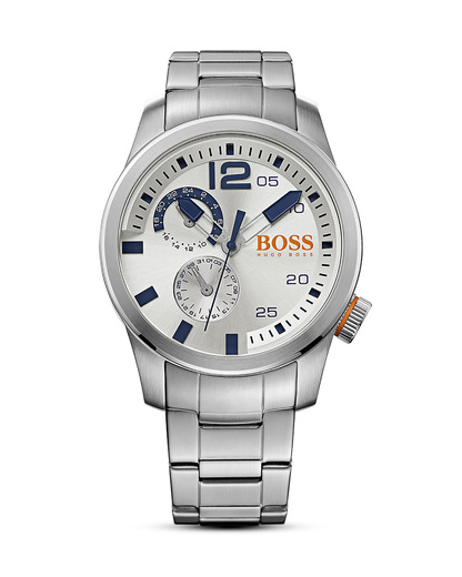 Quarzuhr Paris 1513148 BOSS Orange silber 7613272161626