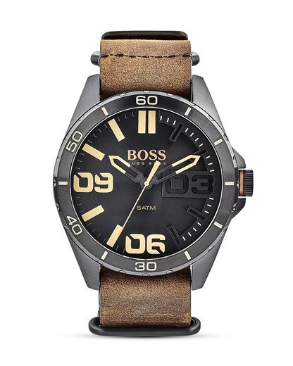 Quarzuhr Berlin 1513316 BOSS Orange beige,braun,schwarz 7613272198561