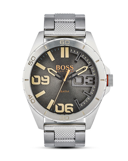 Quarzuhr Berlin 1513317 BOSS Orange beige,grau,silber 7613272198578