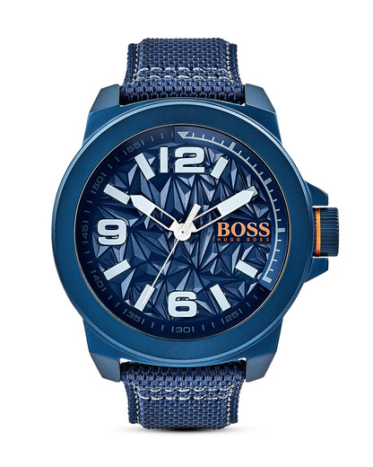 Quarzuhr New York 1513353 BOSS Orange blau,grau,orange 7613272205146