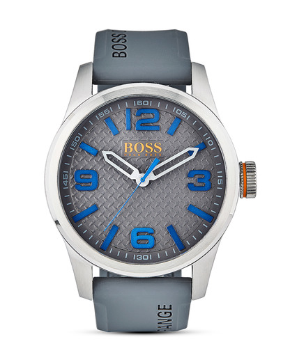 Quarzuhr Paris 1513349 BOSS Orange blau,grau,silber 7613272205108