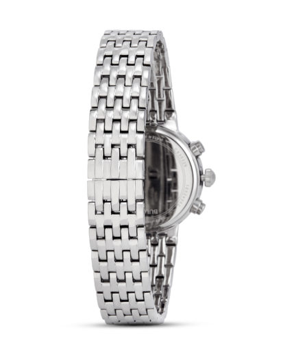 Chronograph Diamonds 96W204 BULOVA Damen Edelstahl 7613077532690
