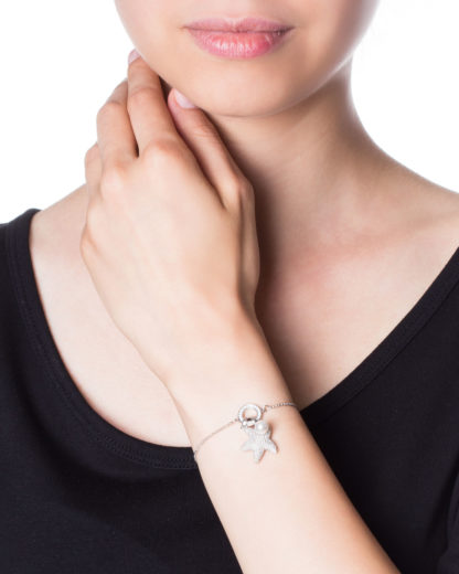 Armband Seestern 925 Sterling Silber caї silber Zirkonia 4045228738195