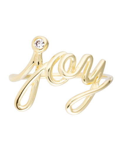 Ring Joy 925 Sterling Silber caї gold Zirkonia