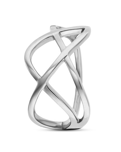 Ring Fluid Curves aus 925 Sterling Silber  caї