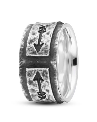 Ring Fast Arrow aus 925 Sterling Silber caï