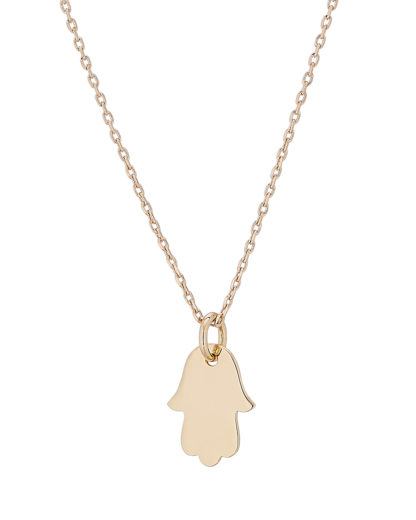 Halskette Hamsa Mini Treasure Gold legiert Clashd Jewelry 764831613302