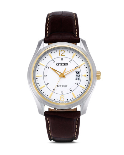 Solaruhr Eco-Drive Sports AW1034-08A CITIZEN braun,silber 4974374226075