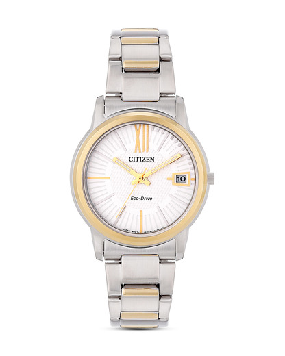 Solaruhr Eco Drive FE6014-59A CITIZEN gold,silber 4974374228444